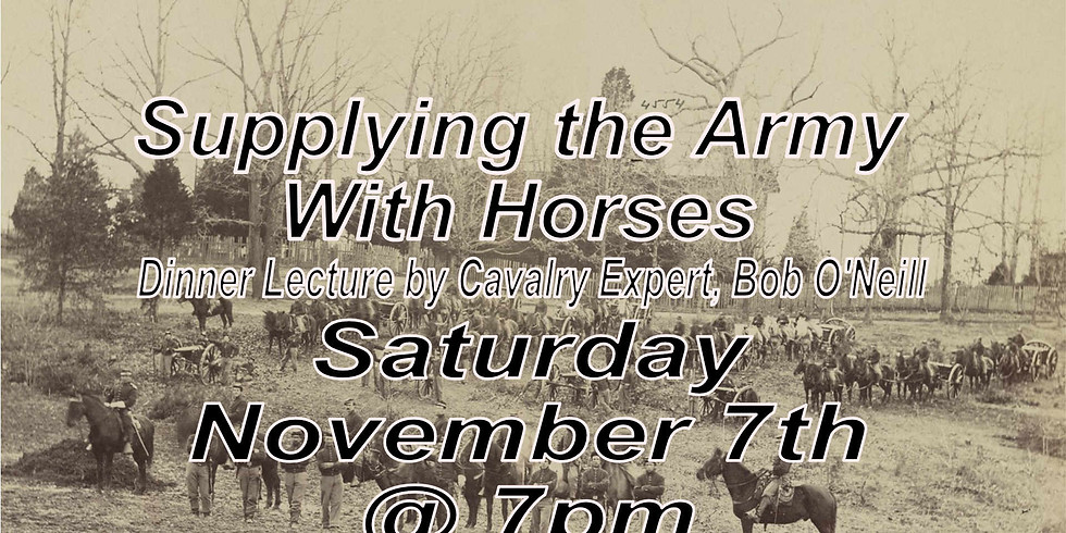 (SOLD OUT!) Supplying the Army with Horses