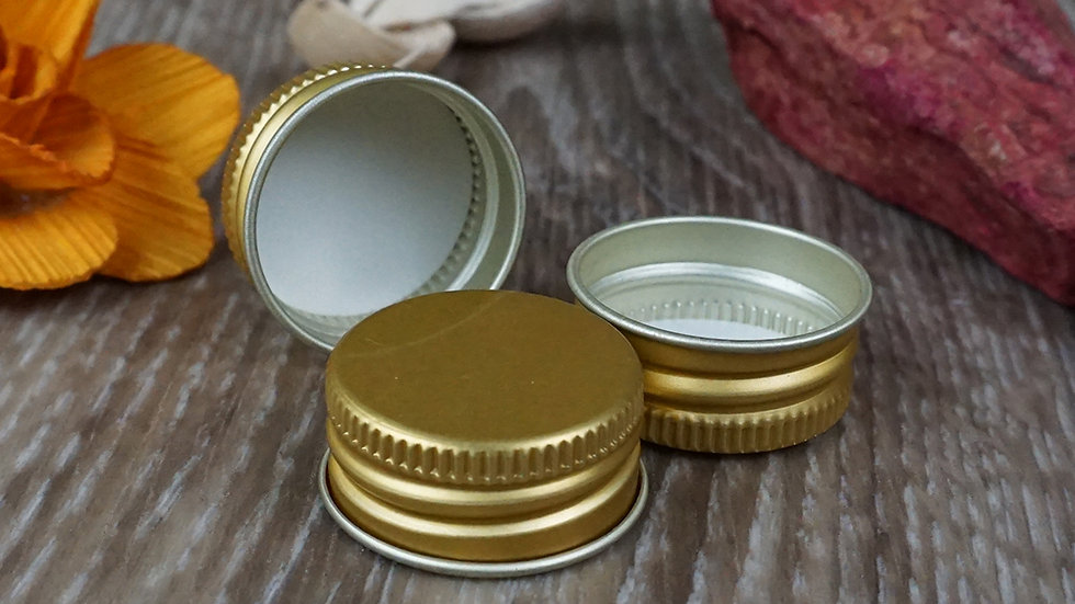Capac aluminiu gold (26_12)