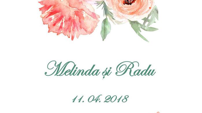 Eticheta sticla 3403 (Floral 11)