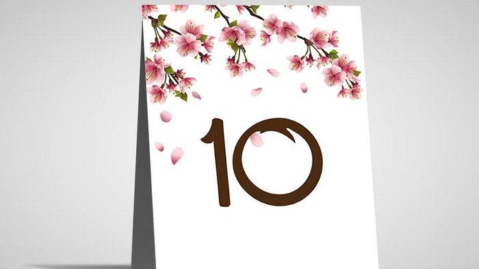Numar de masa floral NMF10