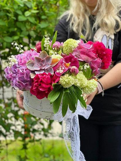 """Aranjament floral - """"Alegerea floristului"""" - Cod: AnaAreFlori12"""