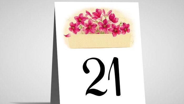Numar de masa floral NMF3