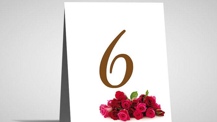 Numar de masa floral NMF6