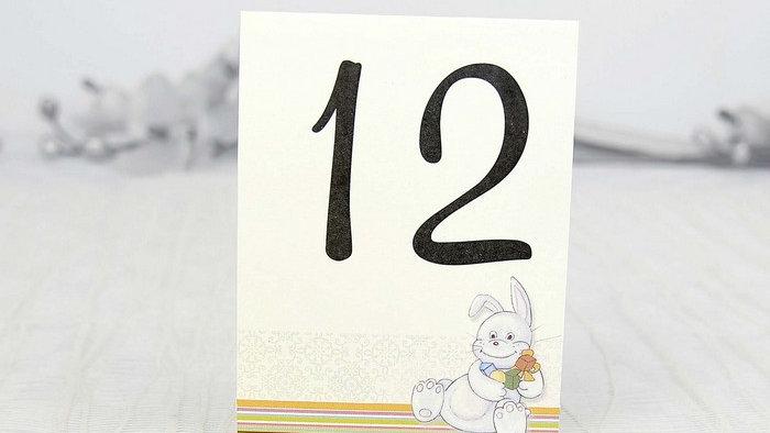 Numar de masa botez si zile aniversare 1207nX