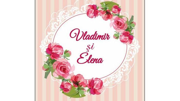 Eticheta sticla 4957 (Floral 12)
