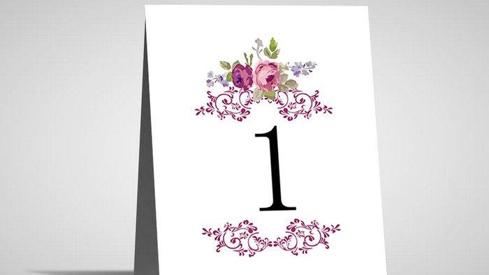 Numar de masa floral NMF9