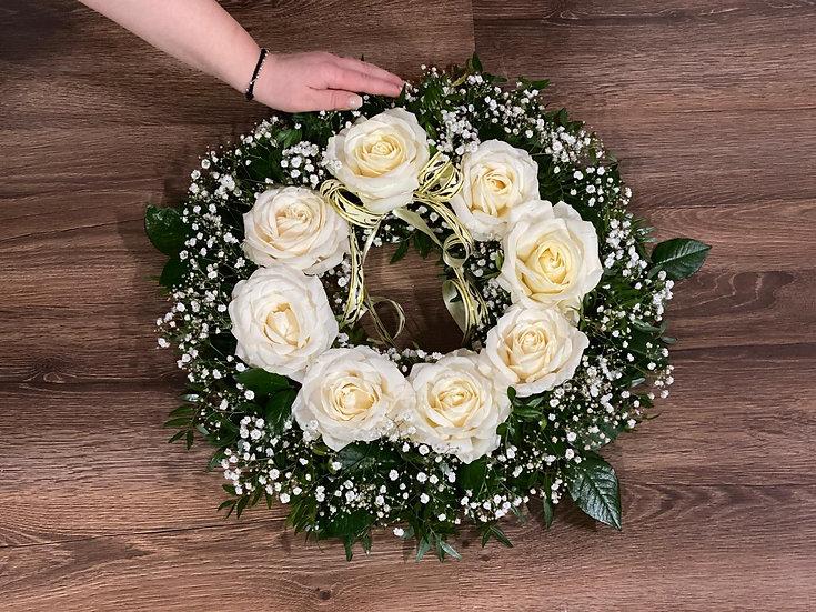Aranjament funerar coronita