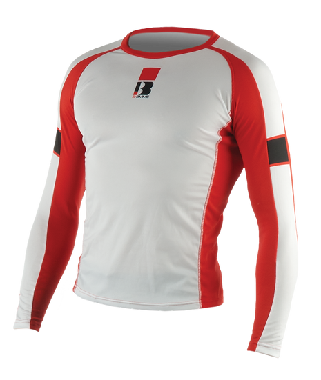 CUSTOM RUNNING LONG  SLEEVE MEN RED