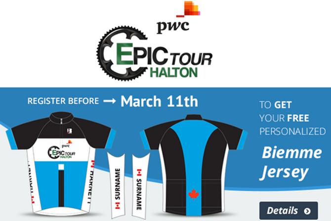 Biemme America partners up with the 2014 PwC Epic Tour Halton