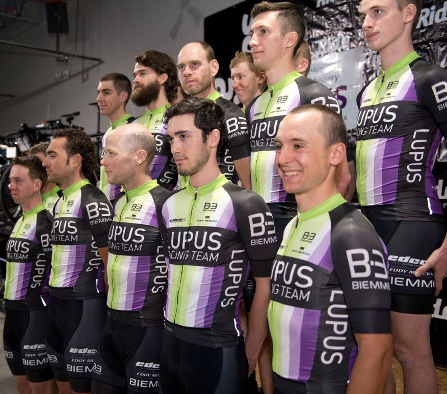 Lupus Racing Team cycling custom