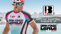 Biemme, Official Sponsor Apparel of the 2015 Gran Fondo Miami