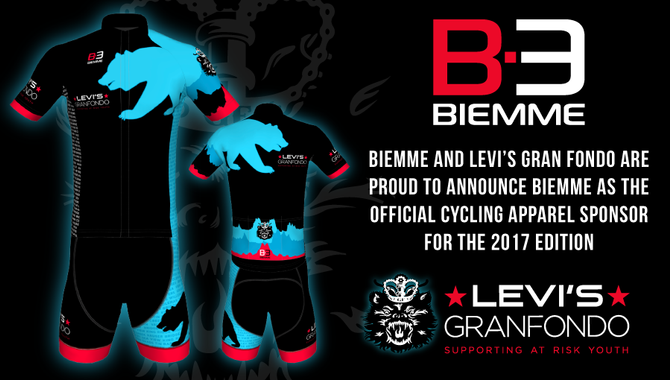 Biemme and Levi's Gran Fondo partner up for the 2017 Edition