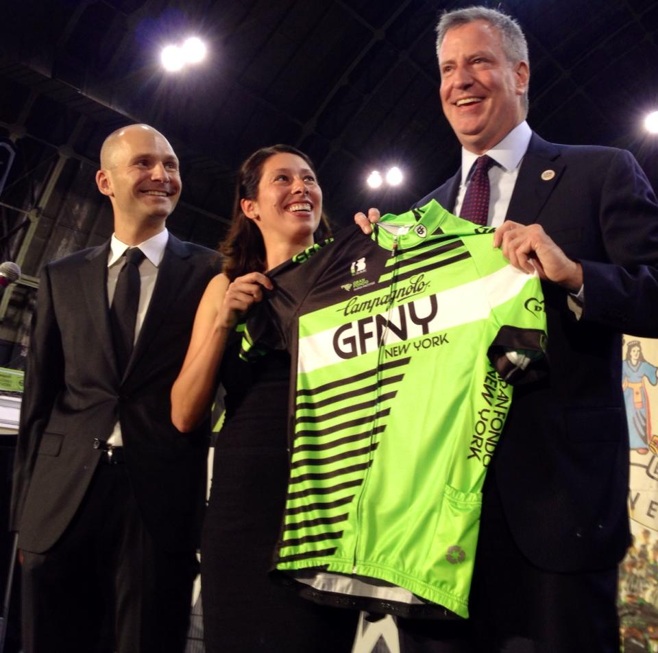 New York City Mayor Bill de Blasio with the Biemme.jpg