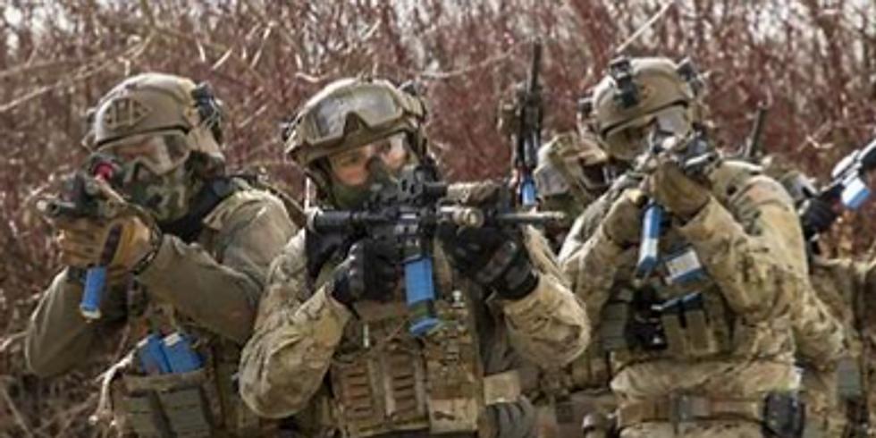 Trainings weekend  - verzorgd door de 17e eskadron jagers
