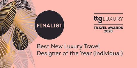 Best New Luxury Travel Designer individu