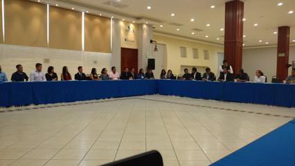Trabajo durante la 3er Reunión Nacional de Consejos Directivos CE-AMH