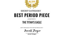 The Titan's Eagle has won its first award!