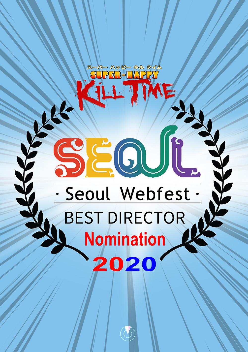 Seoul Web Fest 2020 Best Director SHKT