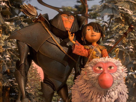 #JustWatched Kubo and the Two Strings (Travis Knight, 2016)