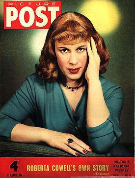 Roberta Cowell en couverture de Picture Post