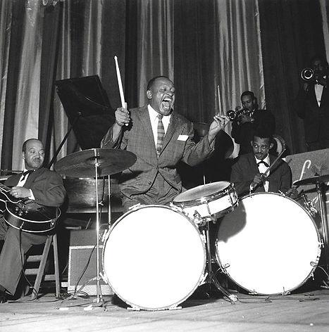 Lionel Hampton à l'Olympia en 1956.
