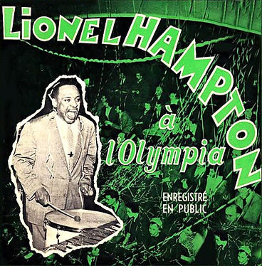 Lionel Hampton à l'Olympia en 1956