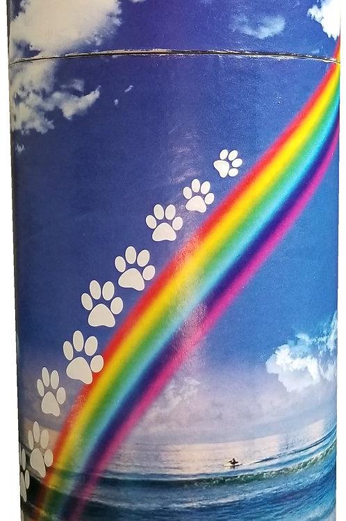 Rainbow Journey Scatter Tube Urn
