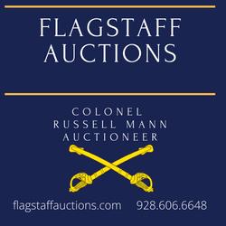 flagstaff auctions canva Logo