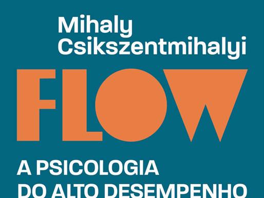 """Indicação do livro """"Flow: A psicologia do alto desempenho e felicidade"""" por Mihaly Csikszentmihalyi"""