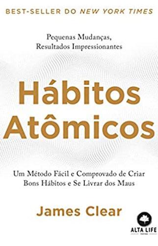 """Livro """"Hábitos Atômicos"""""""