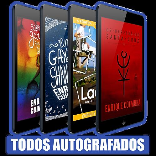 Autografados: Todos os livros de Enrique Coimbra