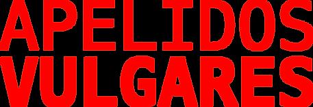 Logotipo do livro Apelidos Vulgares do escritor Enrique Coimbra