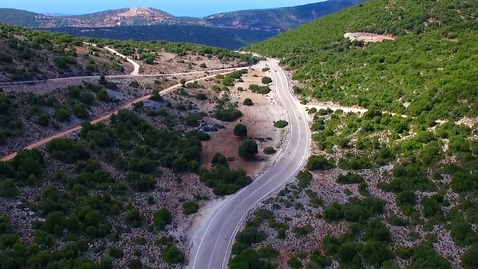 Cycling Kefalonia Quiet Roads