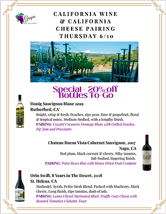 California Wine & Cheese