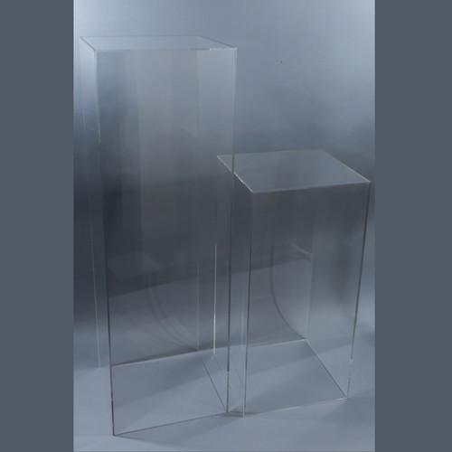plastic top x zone acrylic pedestal height pedestals base inc