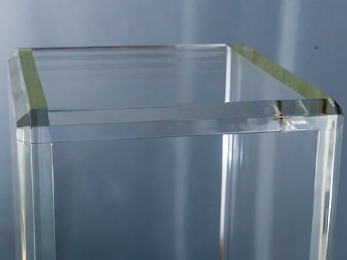 "1"" Thick Clear Acrylic Pedestals"