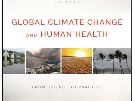 New Publication on Human Health and Climate Change