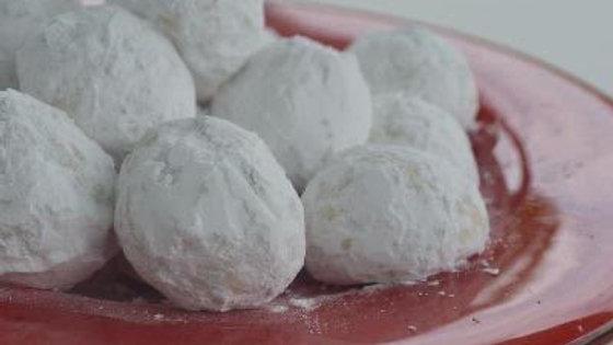 Pecan Wedding Cookies