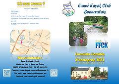 Brochure Offres Comites d'entreprises CK