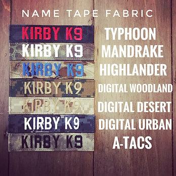 Name Tapes