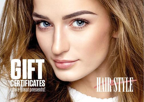 2019 Gift Certificate Hair Style 102619.