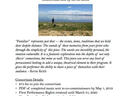 """Consortium Announcement: """"Familiar"""""""