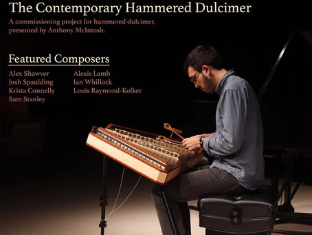 "Anthony McIntosh to Premiere ""An Open Letter to Sam Beam"" for Solo Hammered Dulcimer with Percussion"