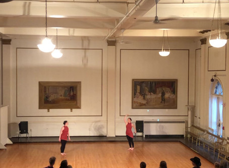 """Rose Hutchins & Ballet Bloom Project to Present """"The Shape of Relativity""""..."""