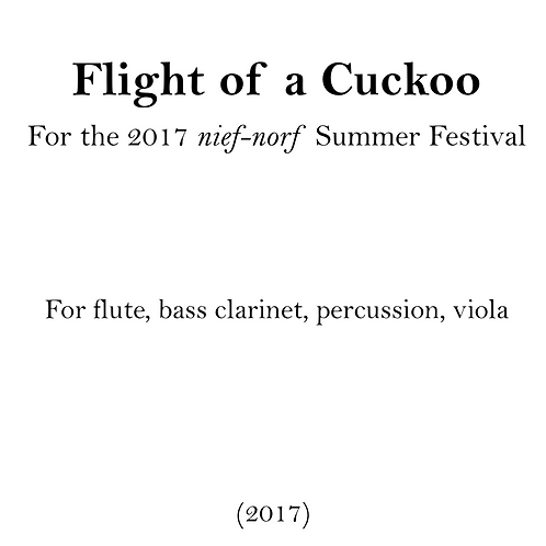 Flight of a Cuckoo