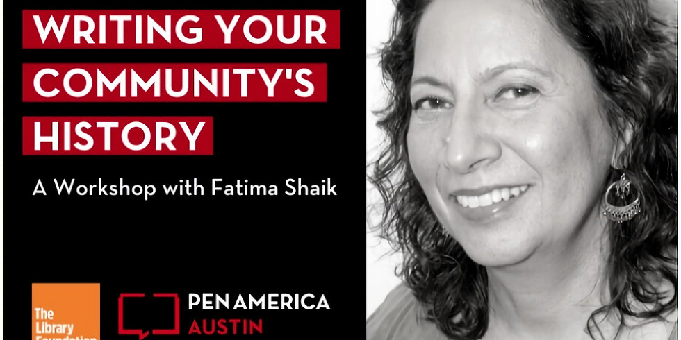 Writing Your Community's History: A Virtual Workshop