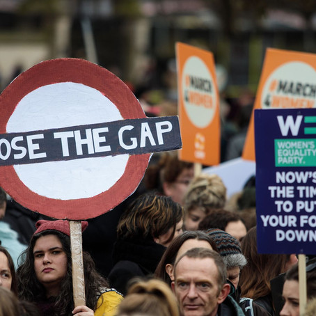 March4Women: Thousands rally for gender equality in London