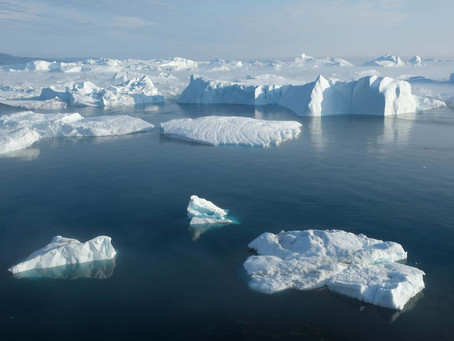 Climate change: Blue skies pushed Greenland 'into the red'
