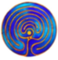 minotaurus-labyrinth-abstract-oil-painti