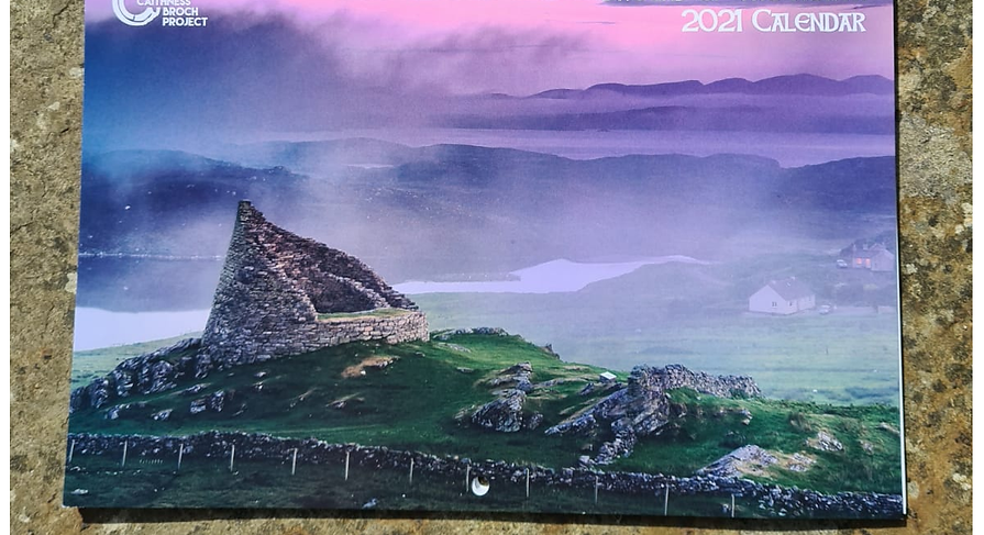 'Brochs of the North' 2021 Calendar